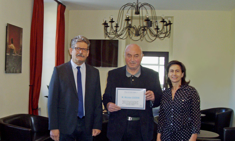 Tirage au sort du 29 mars 2017 - Nicolas Guérin