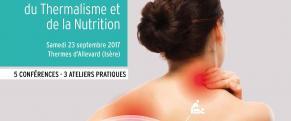 Ateliers du thermalisme et de la nutrition 2017