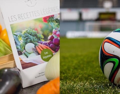 Coupe du monde de football conseils nutritionnels plateau télé Thermes de Brides les Bains
