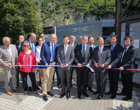 Inauguration des Thermes de Brides-les-Bains le 28 juin 2018