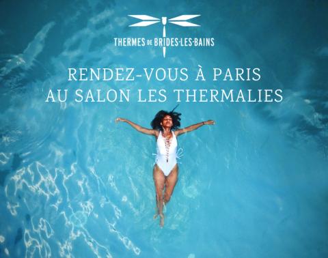 Thermes de Brides-les-Bains salon Les Thermalies Paris 2020
