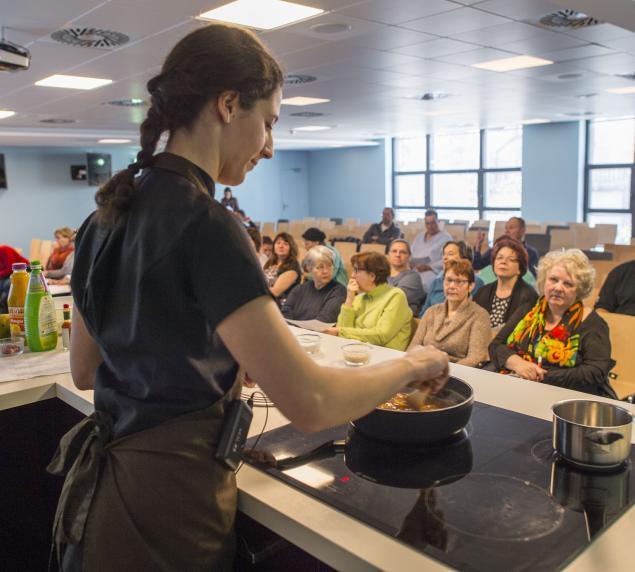 Ateliers et démonstrations de cuisine, programmes complémentaires à la cure thermale