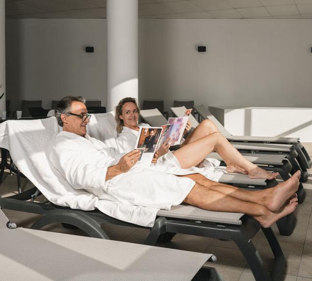 Salle de repos, Cure Thermale à Brides-les-Bains